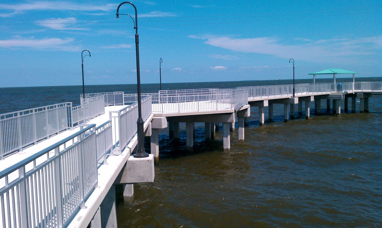 Kenner fishing pier gills crane services for Harrison fishing pier